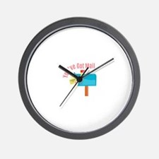 Youve Got Mail Wall Clock