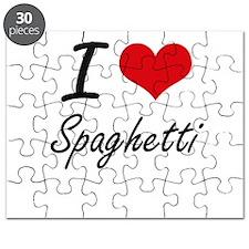I love Spaghetti Puzzle