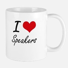 I love Speakers Mugs