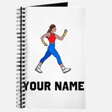 Woman Walking Journal