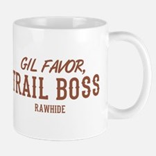 Rawhide Gil Favor Trail Boss Mugs