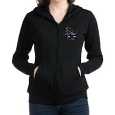 Unique Cartoons Women's Zip Hoodie
