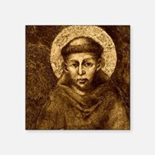 Saint Francis Portrait Sticker