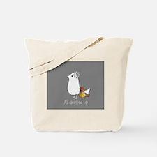 Cute Mama Bird Child Tote Bag