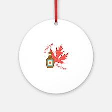 Fresh Off Tree Round Ornament