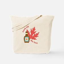Fresh Off Tree Tote Bag