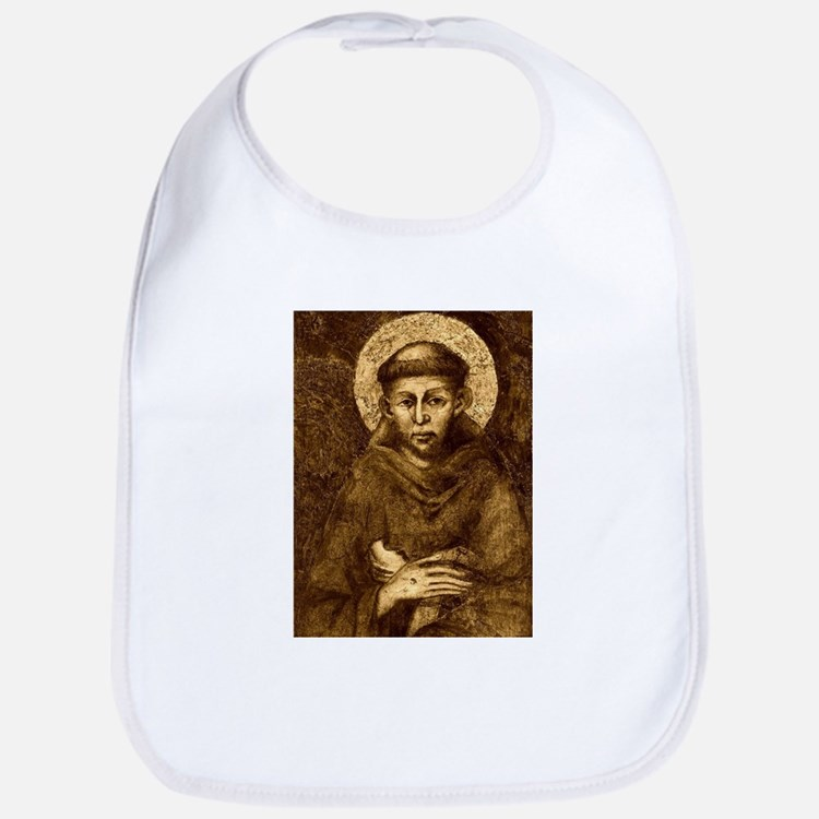 Saint Francis Portrait Bib