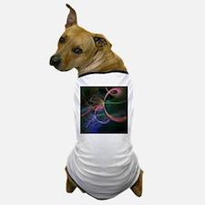 Futuristic Background Dog T-Shirt