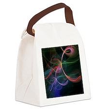 Futuristic Background Canvas Lunch Bag