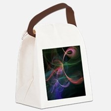 Futuristic Background Canvas Lunch Bag
