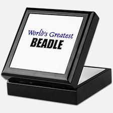 Worlds Greatest BEADLE Keepsake Box