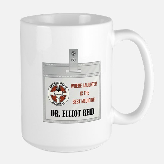 DR. ELLIOT REID Large Mug