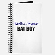 Worlds Greatest BAT BOY Journal