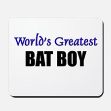 Worlds Greatest BAT BOY Mousepad