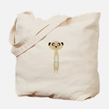 Cute little Meerkat Tote Bag