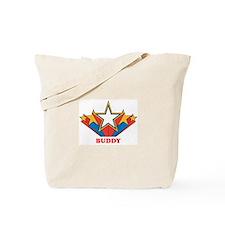 BUDDY superstar Tote Bag