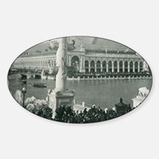 Columbian Exposition Chicago Day Decal
