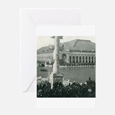 Columbian Exposition Chicago Day Greeting Cards