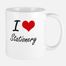 I love Stationery Mugs