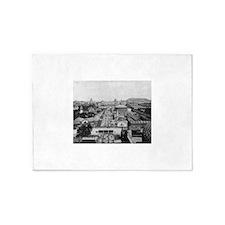 Columbian Exposition Midway Plaisan 5'x7'Area Rug