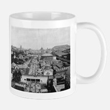 Columbian Exposition Midway Plaisance Mugs