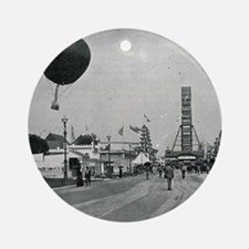 Columbian Exposition- Western Entra Round Ornament