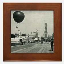 Columbian Exposition- Western Entrance Framed Tile
