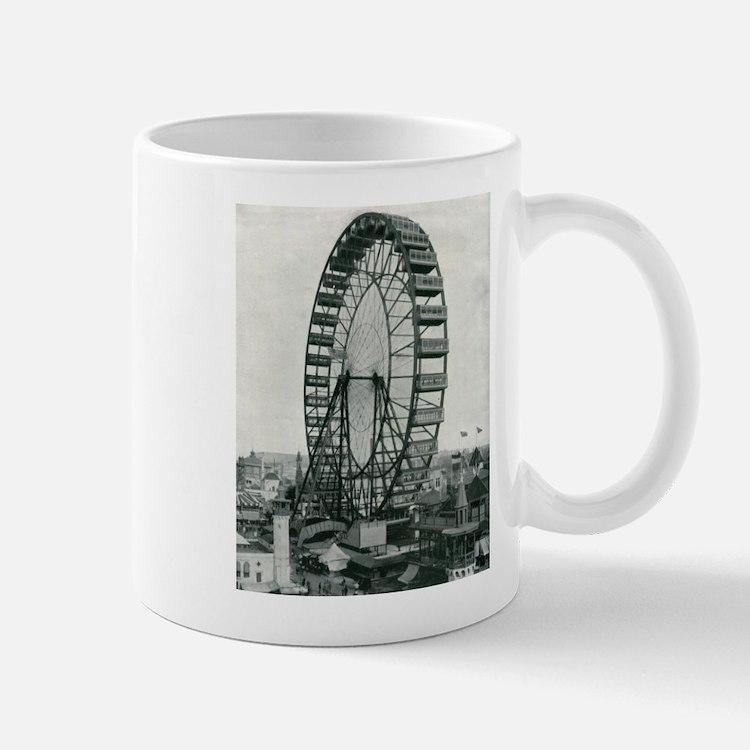 Columbian Exposition Ferris Wheel Mugs