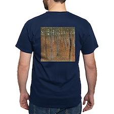 Beech Forest by Klimt T-Shirt
