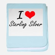 I love Sterling Silver baby blanket