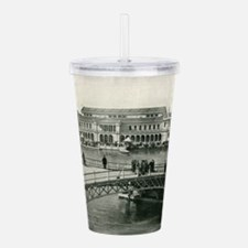 Funny Chicago the windy city Acrylic Double-wall Tumbler