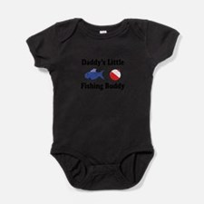 Daddy's little fishing buddy Baby Bodysuit
