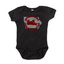 Cute Cow tipping Baby Bodysuit