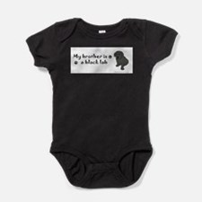 Unique Dog art Baby Bodysuit