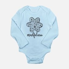 Cute Happy bee Long Sleeve Infant Bodysuit