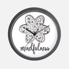 Unique Mindfulness Wall Clock