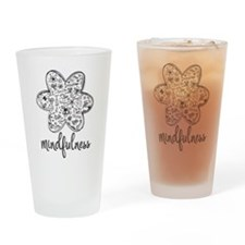 Unique Mindful Drinking Glass