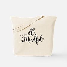 Bee Mindful Tote Bag