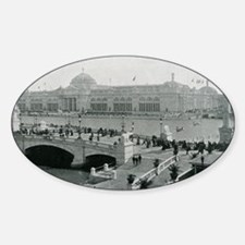 Columbian Exposition Agricultural Hall Decal