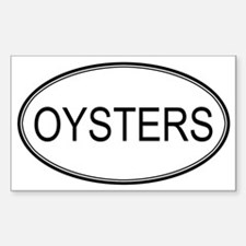 Unique Oyster Decal