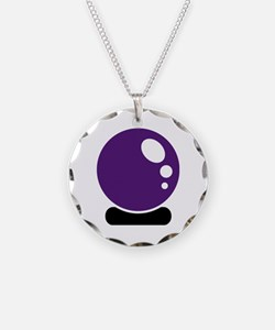 Magic crystal ball Necklace
