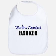 Worlds Greatest BARKER Bib