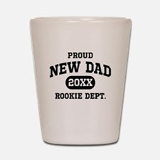 Proud New Dad Personalized Shot Glass