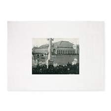 Columbian Exposition Chicago Day 5'x7'Area Rug