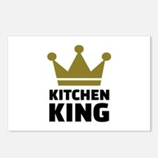 Kitchen king Postcards (Package of 8)