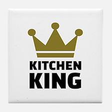 Kitchen king Tile Coaster