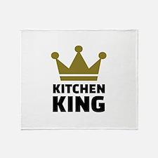 Kitchen king Throw Blanket