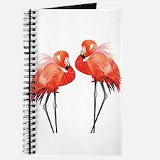 Two Pink Flamingos Journal