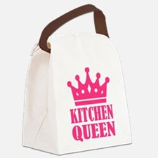 Kitchen queen Canvas Lunch Bag