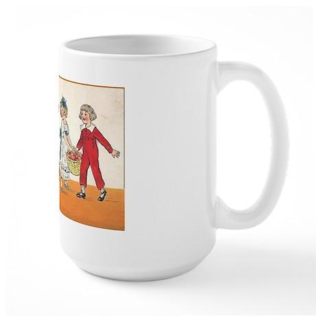 Vintage Halloween Design 2 Large Mug